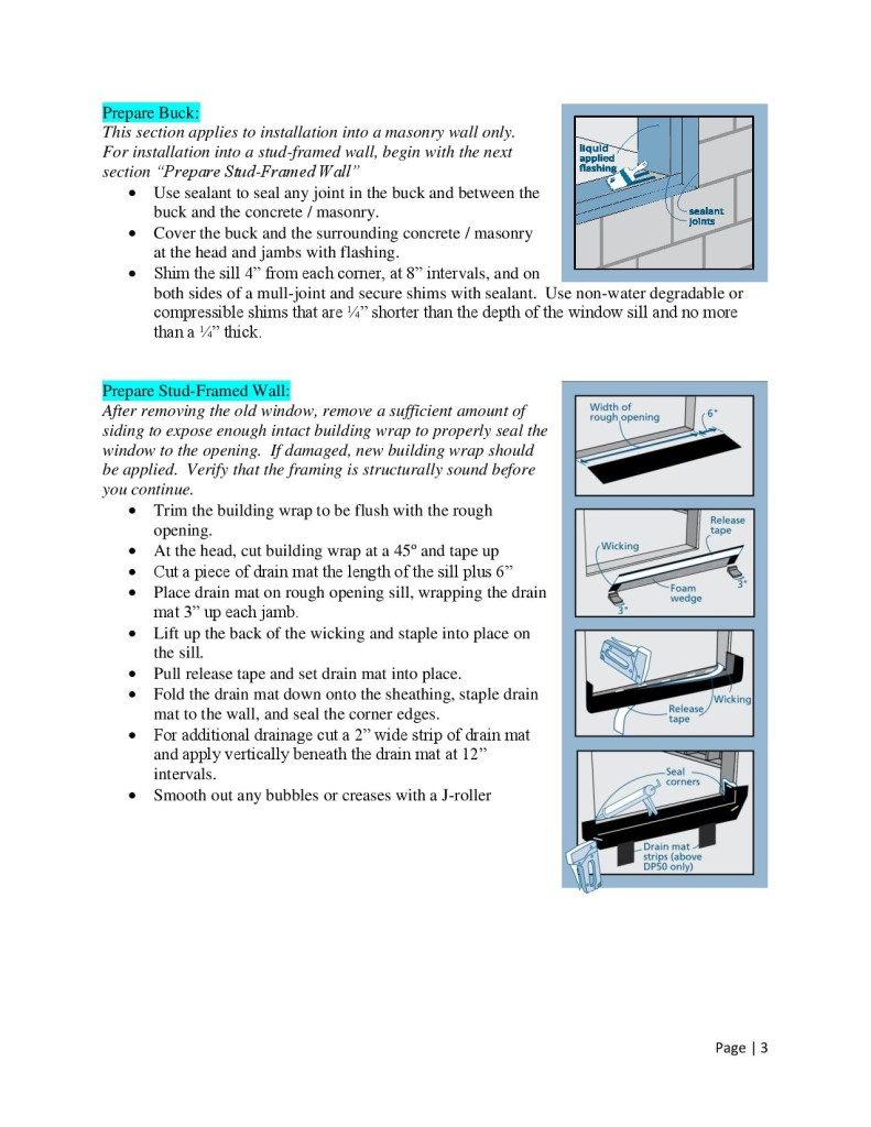 How To Install Windows by Glass-Rite - Nail Fin-page-003